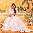 Woman in wedding dress. — Stock Photo #38778277