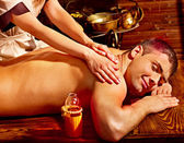 Ayurvedic spa treatment. — Stockfoto