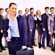 Stock Photo: Group of business people