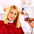 Woman at hairdresser. — Stock Photo #40597937