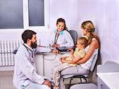 Doctor exam child. — Stock Photo