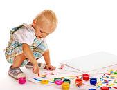 çocuk boyama — Stok fotoğraf