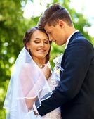 Le marié et la mariée — Photo