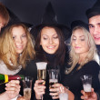 Group young at nightclub. — Stock Photo #6724880