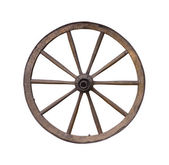 Wooden wheel — Photo