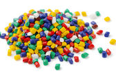 Polymer granules — Stock Photo