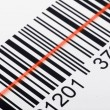 Stock Photo: Scanning barcode