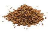 Instant coffee granules — Stock Photo