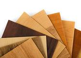 деревянные образцы — Стоковое фото