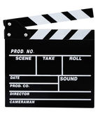 Clapperboard — Stock Photo