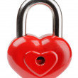 Heart padlock — Stock Photo #33080763