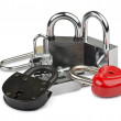 Stock Photo: padlocks