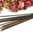 Stock Photo: Incense and potpourri