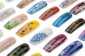 Zdobienia paznokci — Zdjęcie stockowe