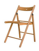 Folding chair — Stock Photo