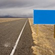 Blank Highway Sign — Stock Photo #1268451