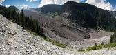 Mt. Rainier Carbon Glacier — Stock Photo