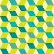 Seventies green seamless - Imagen vectorial