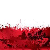 Blood splatter background — Stock Vector