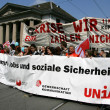 May Day in Zurich — Stock Photo