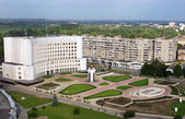 Lutsk, Ukraine - aerial view — Stock Photo
