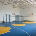 School gym indoor — Stock Photo