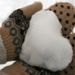 Snow heart — Stock Photo #13568570