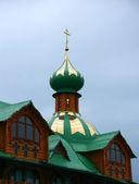 Dôme de l'église orthodoxe — Photo