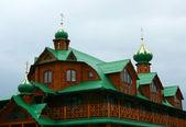 Coupoles de l'église orthodoxe — Photo