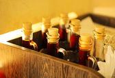 Botellas de aceite — Foto de Stock