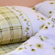 Bed clothes — Stock Photo