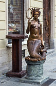 Sculptuur in lviv — Stok fotoğraf