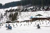 Ski resort bukovel — Stock fotografie