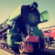 Soviet locomotive — Stock Photo #40201261