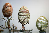 Carved eggs  — Stock Photo