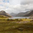 Wast water in english lake district — Stock Photo