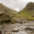 Honister Pass in Lake District in stream — Stock Photo #13168613