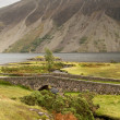 Stone bridge over river by Wastwater — Stock Photo #13168629