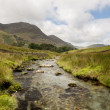Stock Photo: Rocky stream leads towards Buttermere