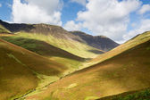 Newlands Pass in Lake District in England — Stock Photo