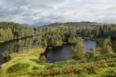 Vista sopra tarn hows inglese lake District — Foto Stock