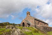Old stone church in Buttermere Village — Stock Photo