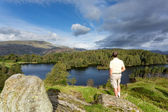 Vue sur tarn hows anglais lake district — Photo