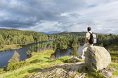 View over Tarn Hows in English Lake District — ストック写真