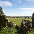 Rollright Stones stone circle in Cotswolds — Stock Photo #13473917