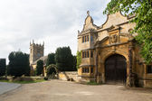 Stanway house e st peters chiesa stanton — Foto Stock