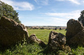 Rollright Stones stone circle in Cotswolds — Stock Photo