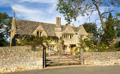 Traditional cotswold stone house Chipping Campden — Stock Photo