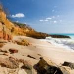 Cupecoy Beach Sint Maarten — Stock Photo