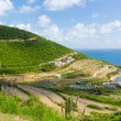 New construction on St Martin Sint Maarten - Stock Photo